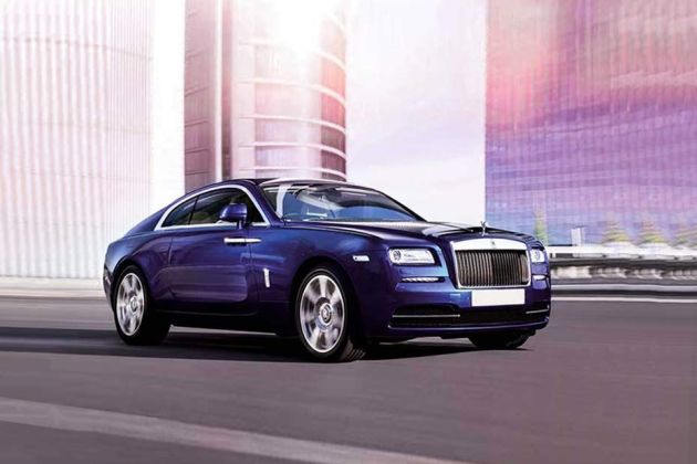 Rolls Royce Wraith Front Left Side Image