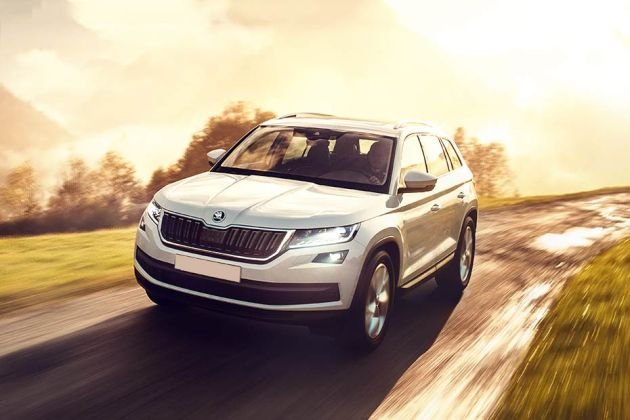 Skoda Kodiaq Front Left Side Image