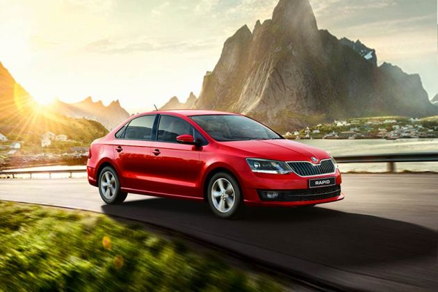 Skoda Rapid Front Left Side Image