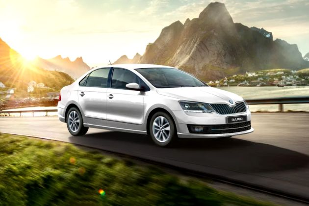 New Skoda Rapid Front Left Side Image