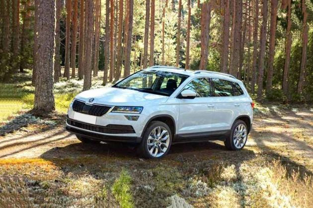 Skoda Karoq Front Left Side Image