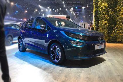 Tata Altroz EV Front Left Side Image