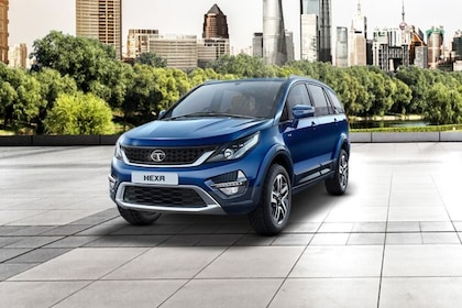 Tata Hexa Front Left Side Image