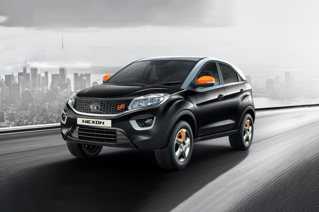 Tata Nexon Front Left Side Image