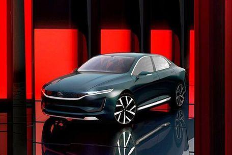 टाटा ई-विजन इलेक्ट्रिक front left side image