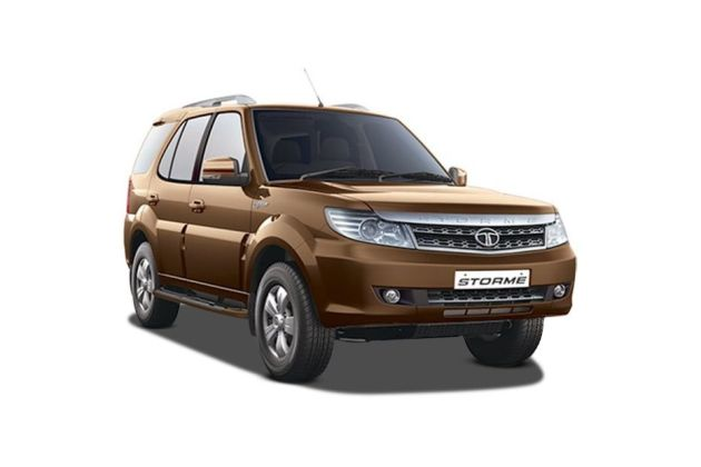 Tata Safari Front Left Side Image