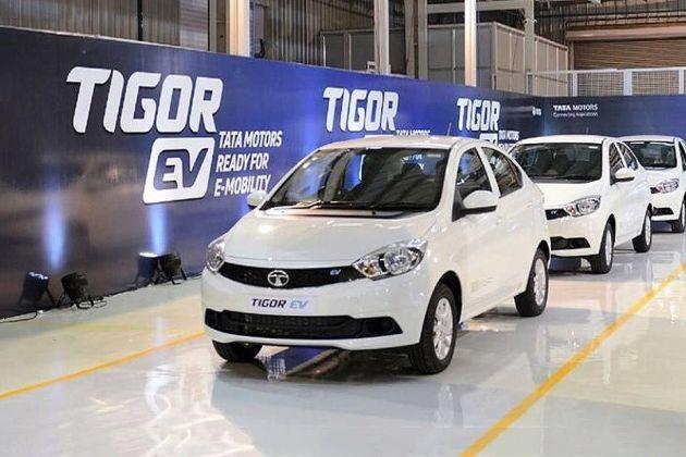 Tata Tigor EV Front Left Side Image