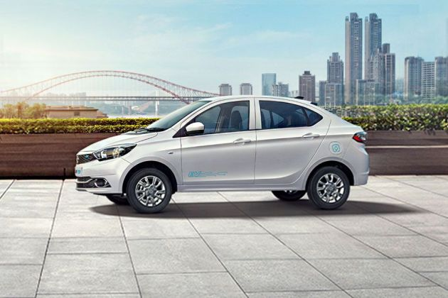 Tata Tigor EV Front Left Side Image