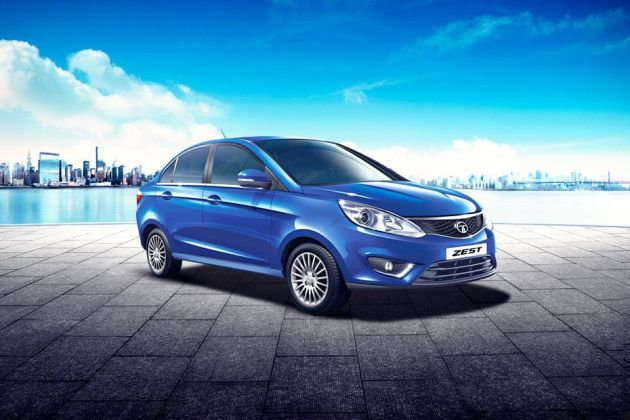 Tata Zest Front Left Side Image