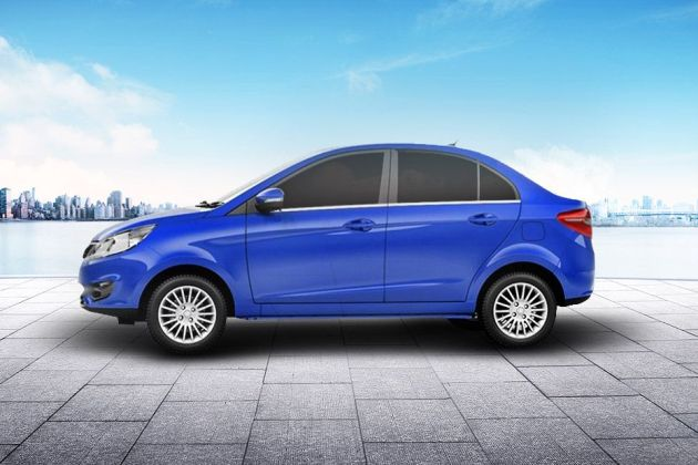 Tata Zest Side View (Left)  Image