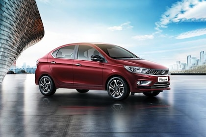 Tata Tigor Front Left Side Image