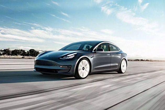 Tesla Model 3 Front Left Side Image