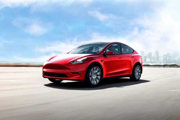 Tesla Model Y Front Left Side Image