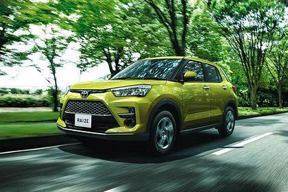 Toyota Raize Front Left Side Image