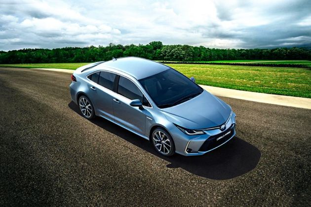 Toyota Corolla 2020 Front Left Side Image