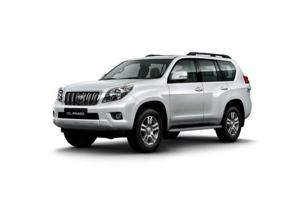 Toyota Land Cruiser Prado 2009-2013 Front Left Side Image