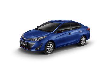 Toyota Yaris Ativ Front Left Side Image