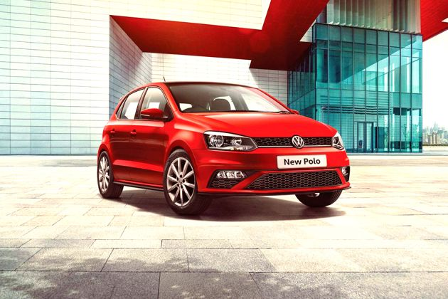 Volkswagen Polo Red And White Edition