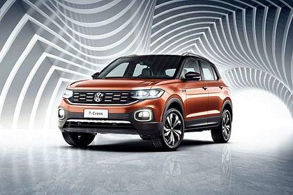 Volkswagen T-Cross Front Left Side Image