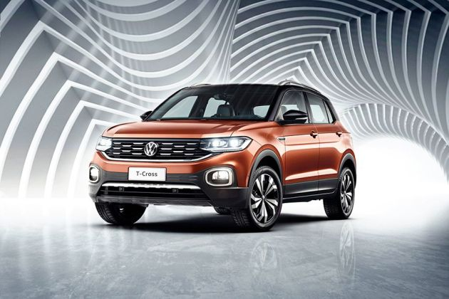 Volkswagen T-Cross Front Left Side Image
