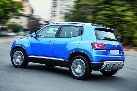 Volkswagen Taigun Rear Left View Image