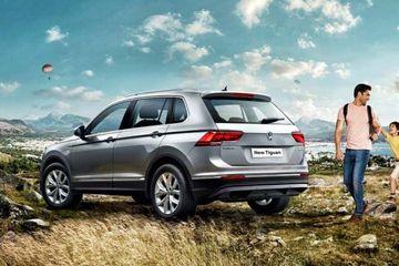 Volkswagen Tiguan Rear Left View Image