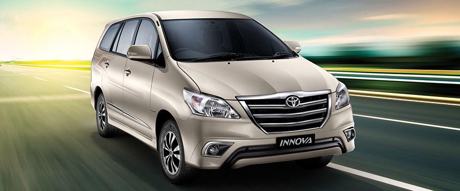 Toyota Innova fifth