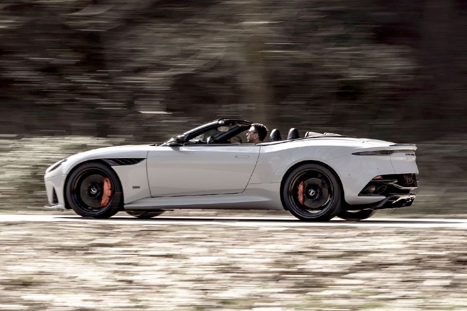 Aston Martin DBS Superleggera Side View (Left)  Image