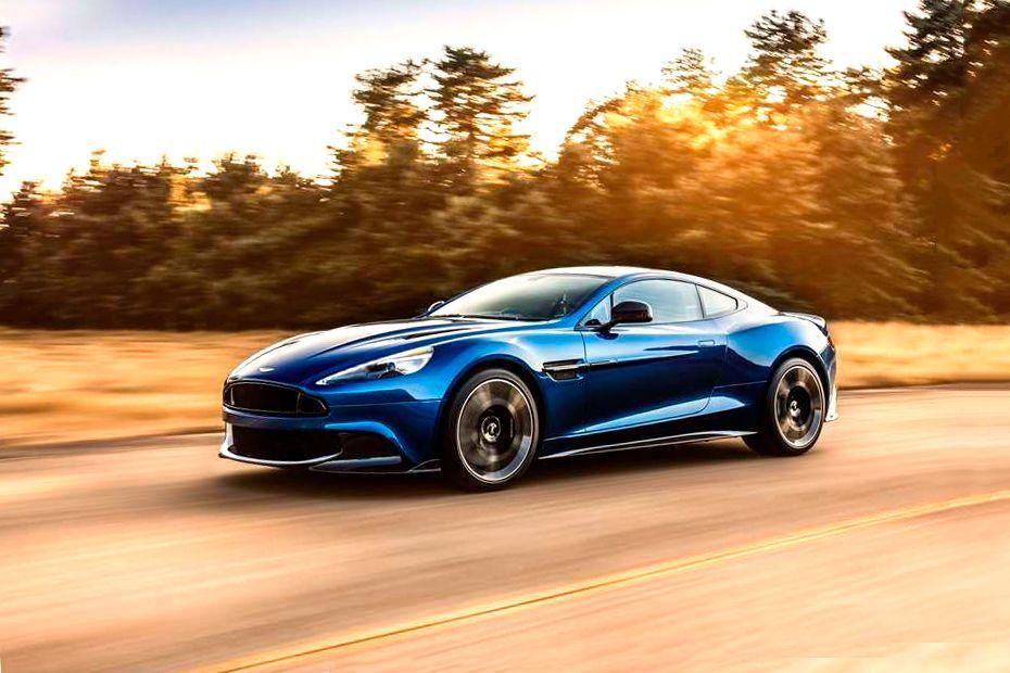 Aston Martin Vanquish Front Left Side Image