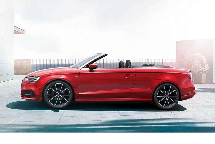 Audi A3 cabriolet Side View (Left)  Image