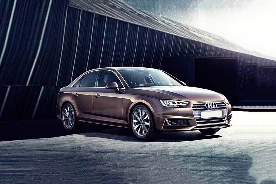 Audi A4 Attractive Stance