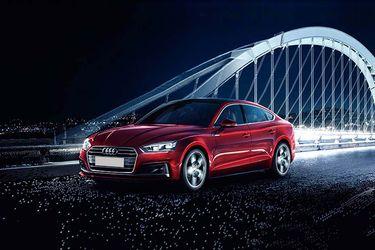 Audi A5 Front Left Side Image
