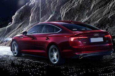 Audi A5 Rear Left View Image
