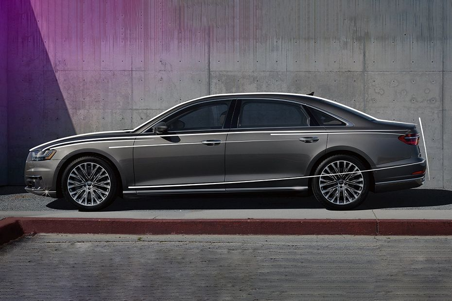 Audi A8 2019 Side View (Left)  Image