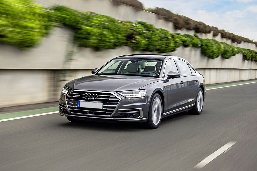 Audi A8 2019 Front Left Side Image