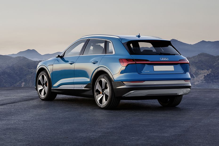 Audi e-tron Rear Left View Image
