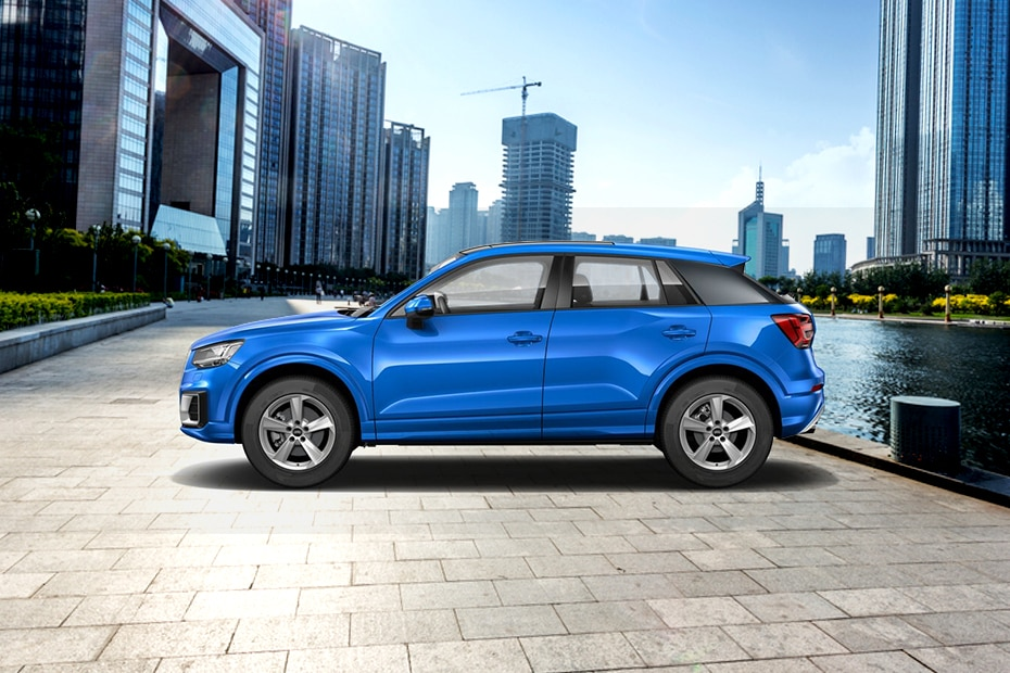Audi Q2 Side View (Left)