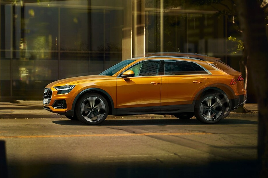 Audi Q8 Side View (Left)