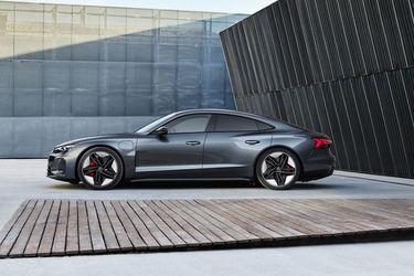 Audi e-tron GT Side View (Left)