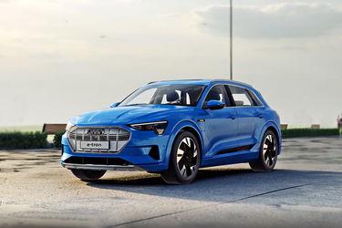 Audi e-tron Front Left Side