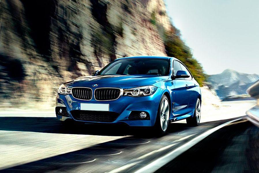 BMW 3 Series GT Front Left Side Image