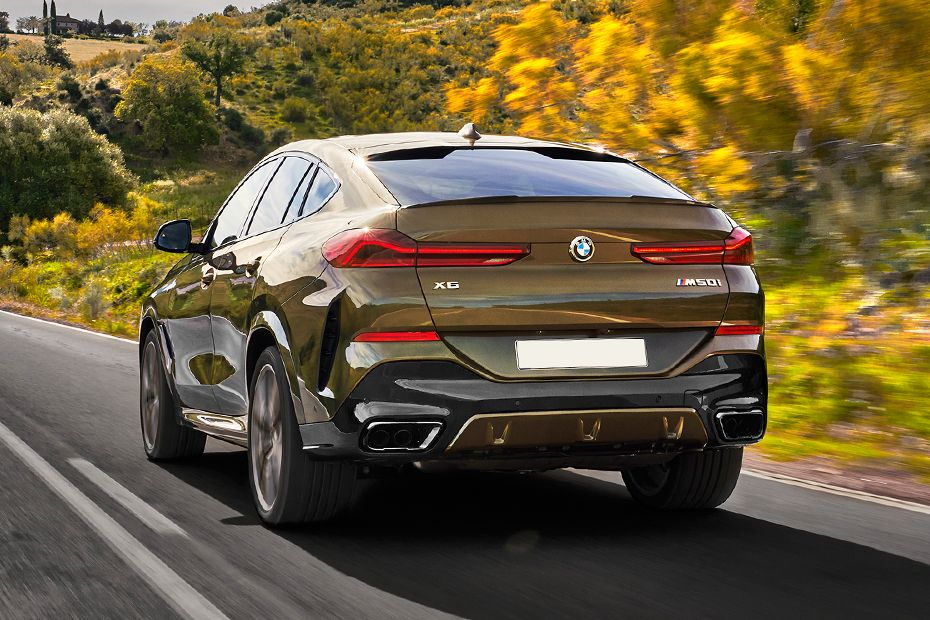 BMW X6 2020 Rear Left View Image