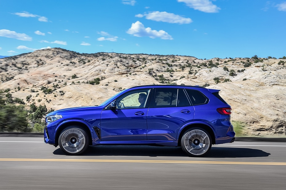 BMW X5 M Side View (Left)