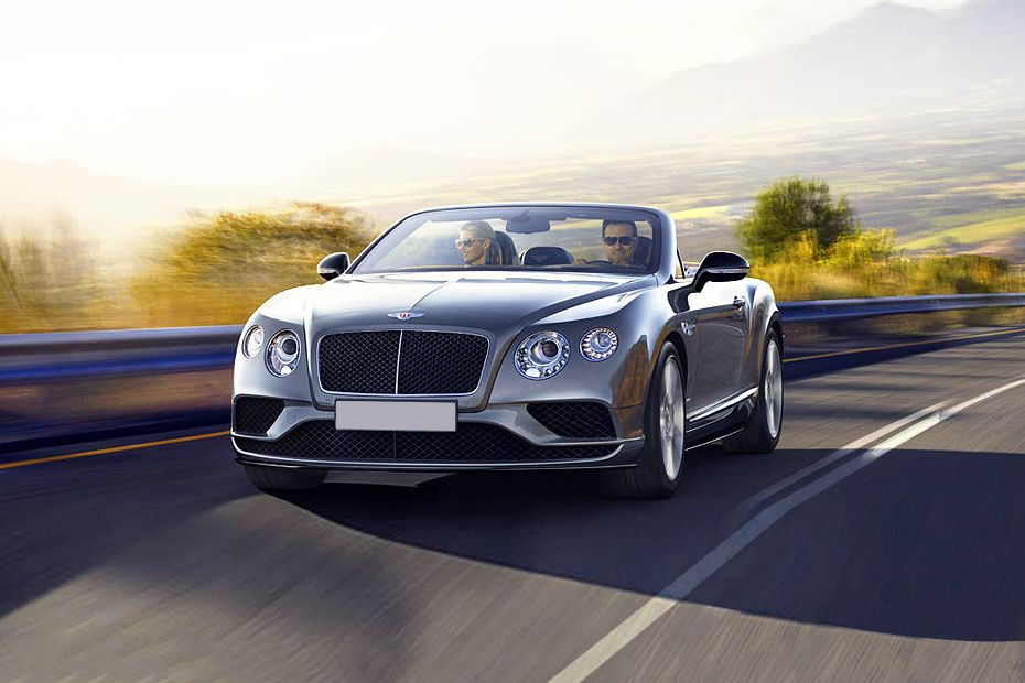 Bentley Continental Front Left Side Image