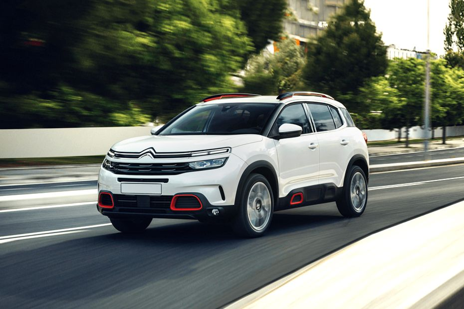 Citroen C5 Aircross Front Left Side Image