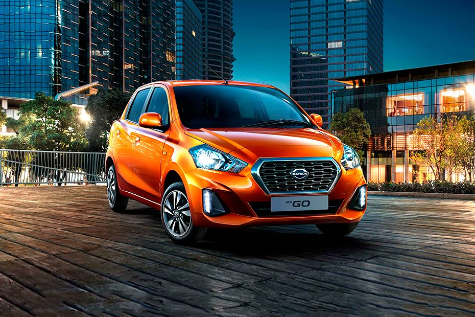 2018 Datsun Go Front Three Quarters