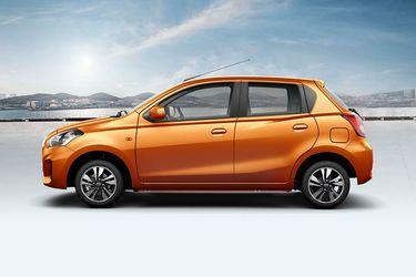Datsun Go Side Profile - Left