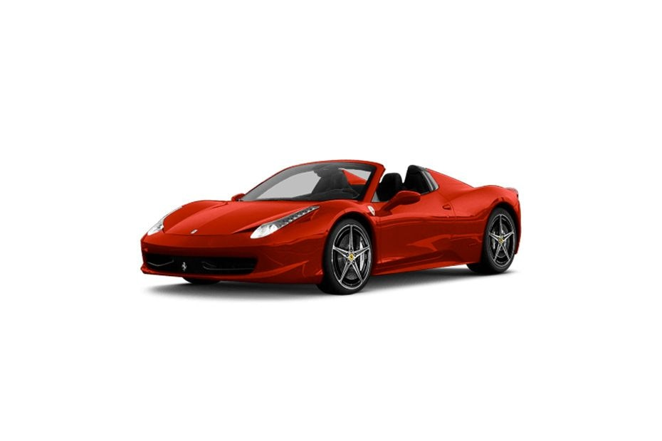 Ferrari 458 Spider Front Left Side Image