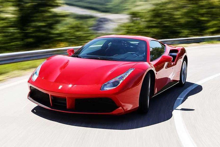 Ferrari 488 GTB Front Left Side Image