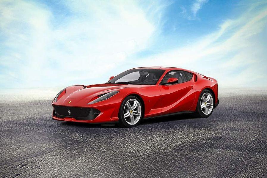 Ferrari 812 SuperFast Front Left Side Image